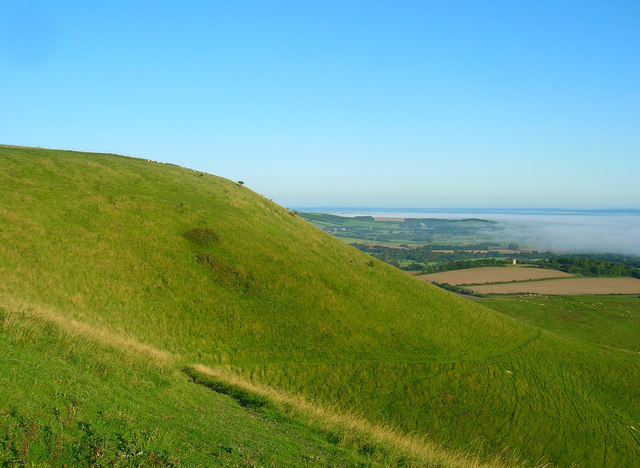 Firle Beacon - geograph.org.uk - 961577