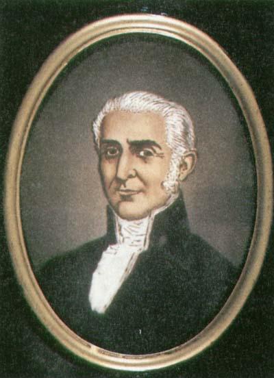 Depiction of Francisco Montalvo y Ambulodi
