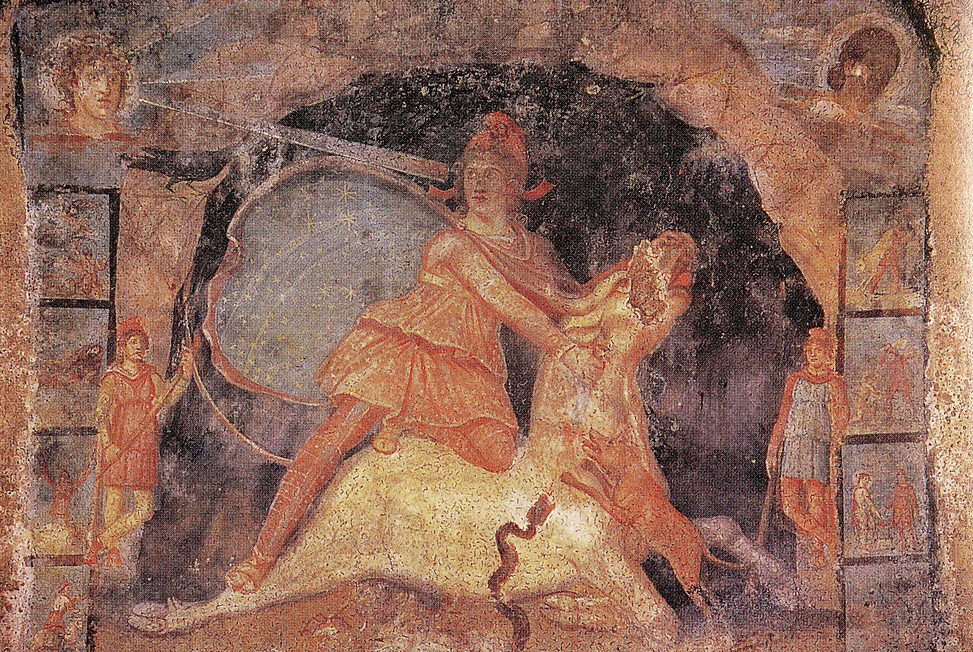 http://upload.wikimedia.org/wikipedia/commons/8/8e/Fresque_Mithraeum_Marino.jpg