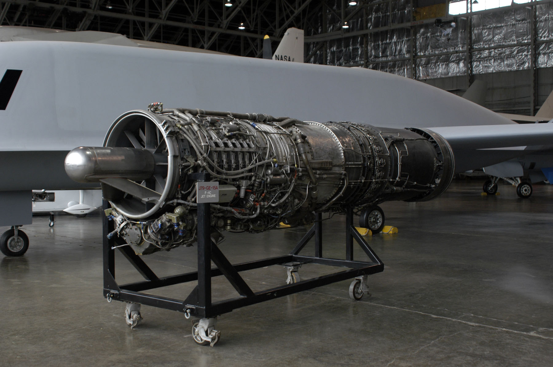 File General Electric J79 at the USAF Museum 2007 Wikimedia