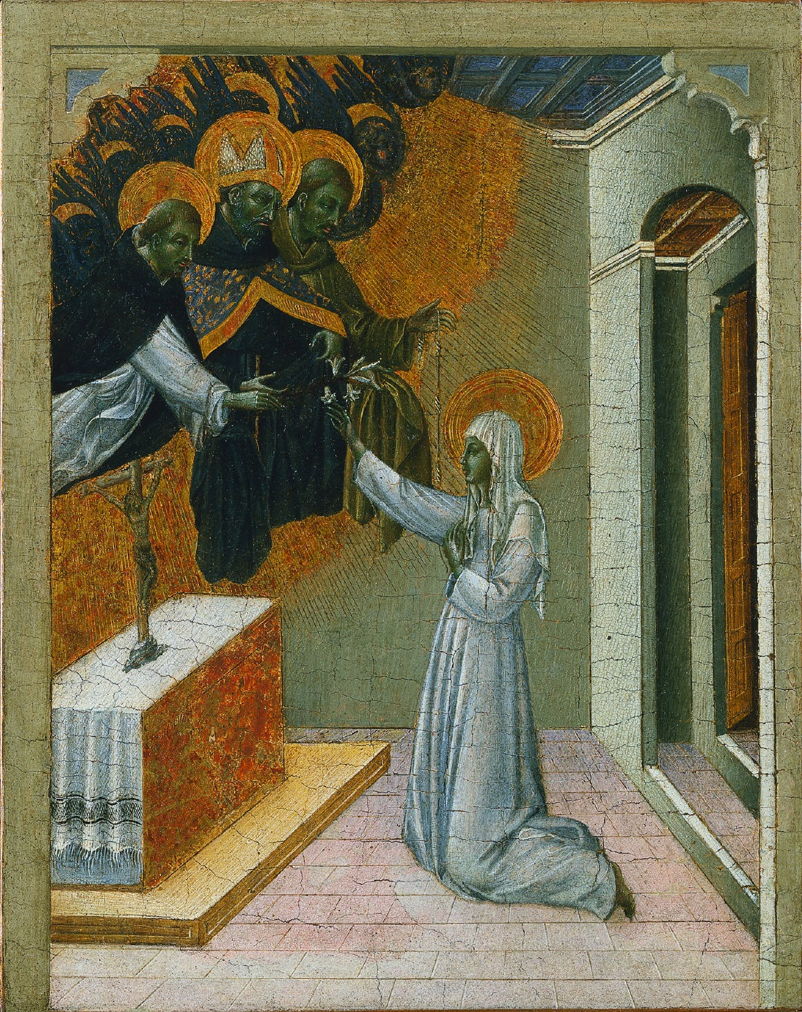 https://upload.wikimedia.org/wikipedia/commons/8/8e/Giovanni_di_Paolo_-_Santa_Caterina_da_Siena_investita_con_l'abito_domenicano.jpg