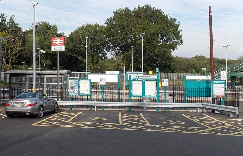 Gowerton railway station - geograph.org.uk - 3673608