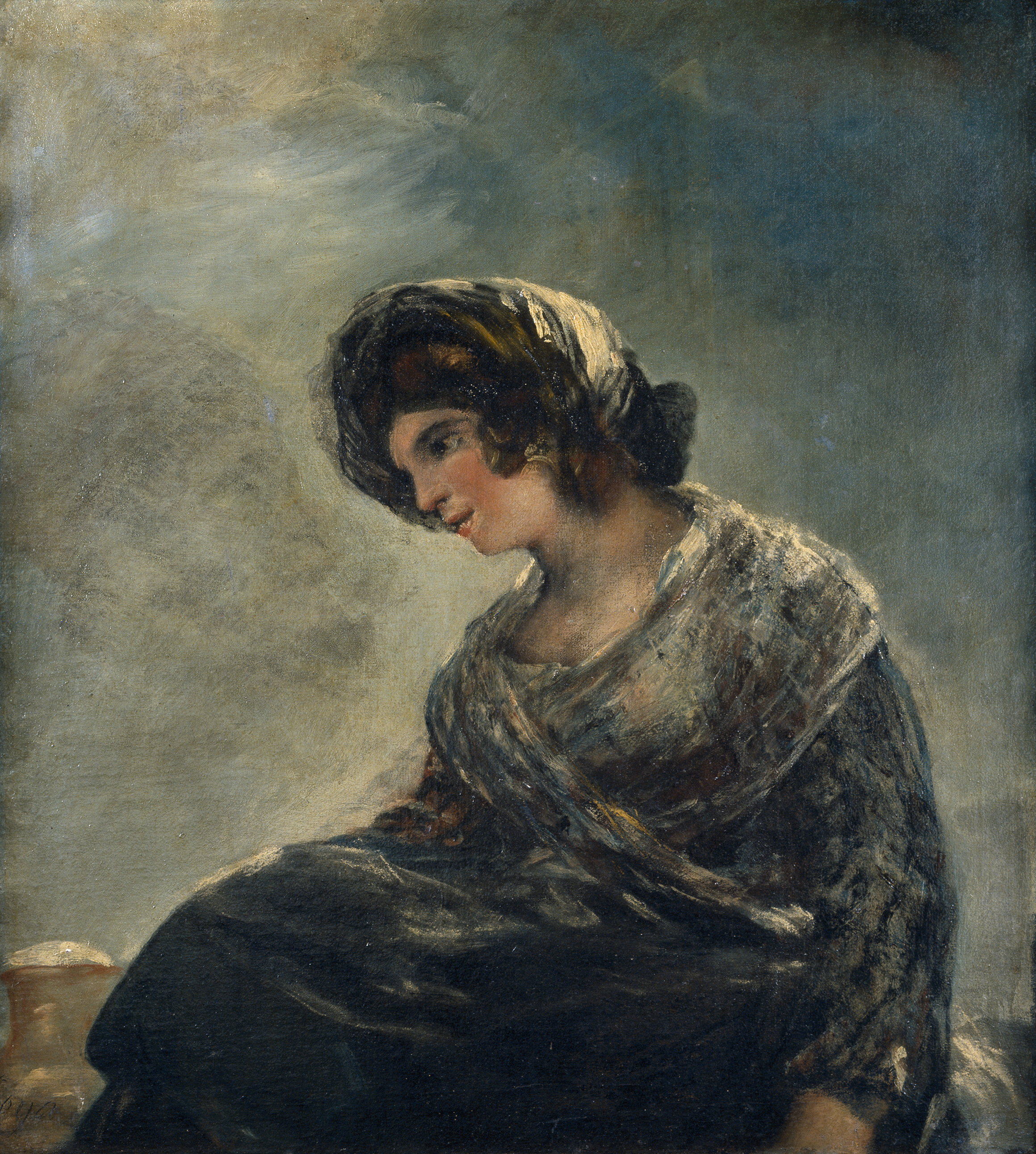 he Milkmaid of Bordeaux, by Goya