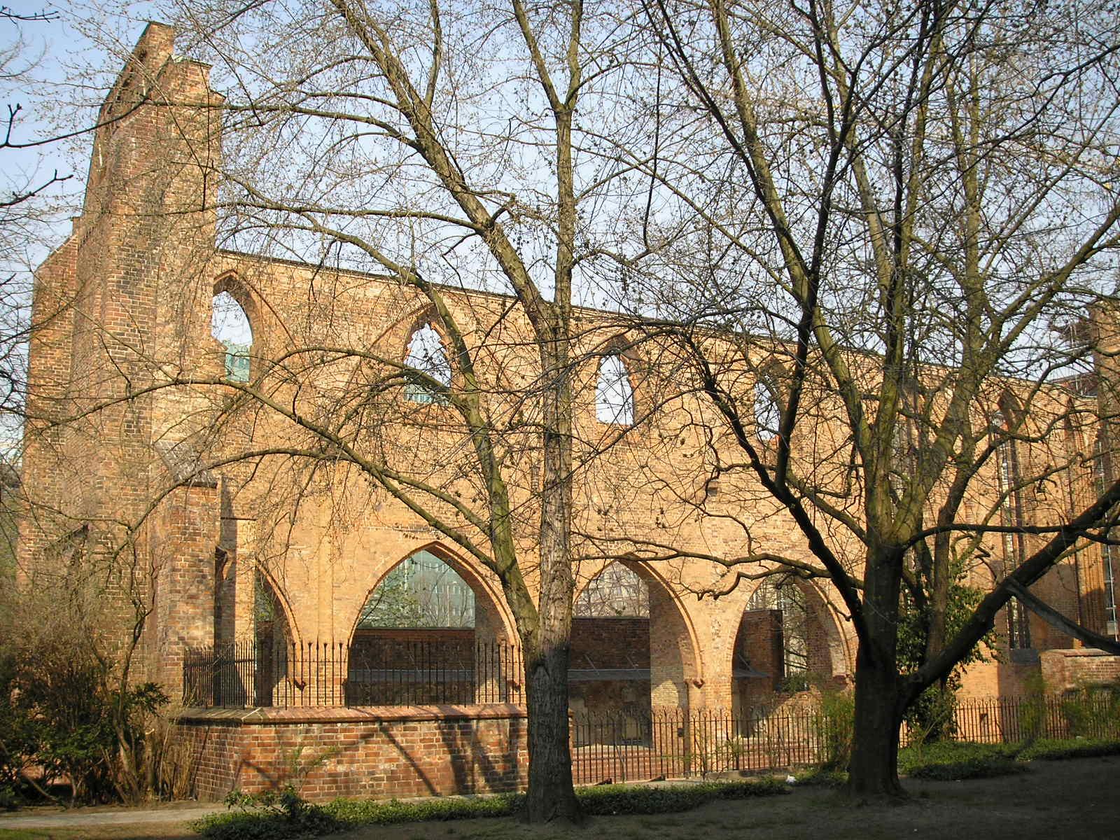 Mosteiro Franciscano de Berlim, um dos prédios mais antigos de Berlim