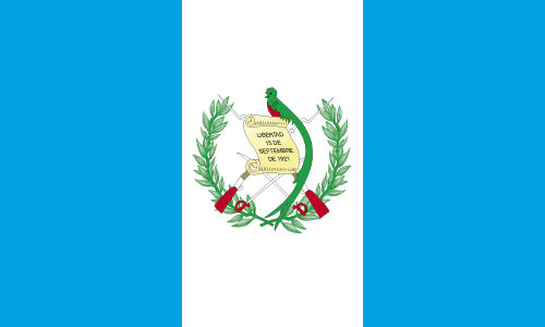 Guatemala Flag Symbol Coloring Page