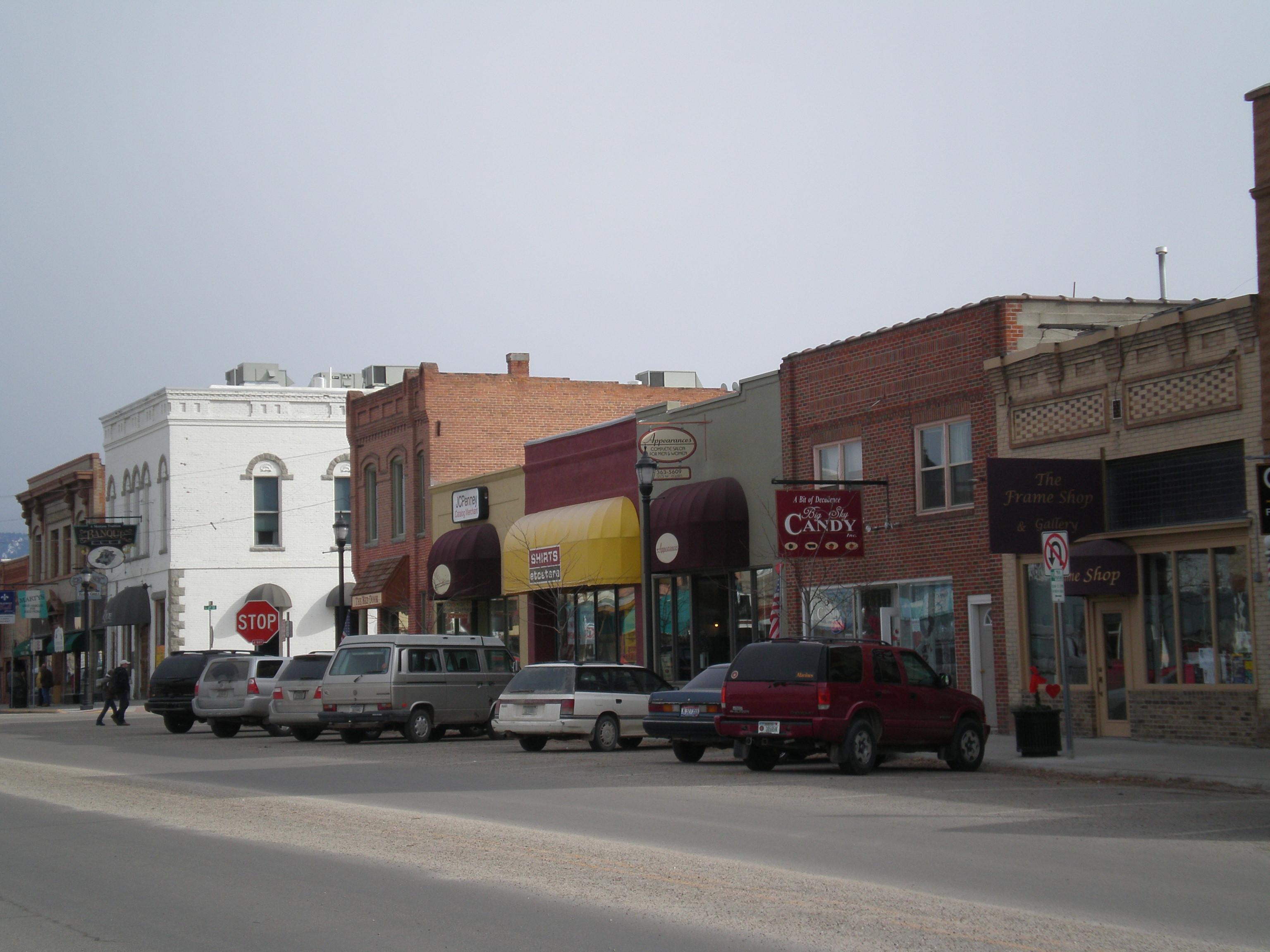 Hamilton (MT) United States  city photos : Hamilton MT Main Street Wikimedia Commons