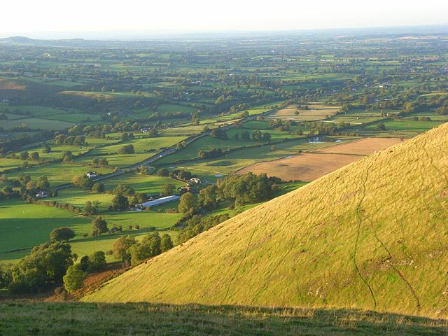 Hillside, Caer Caradoc - geograph.org.uk - 1006459