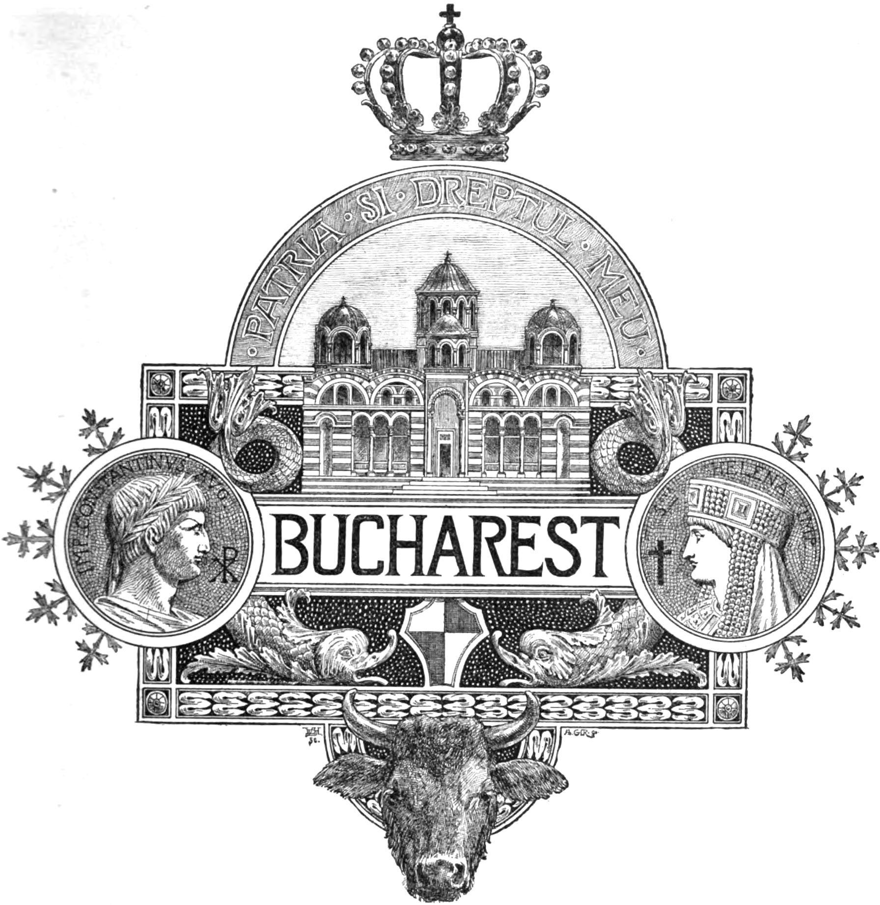 filehistorical bucharest coa 1893 harpers logojpg