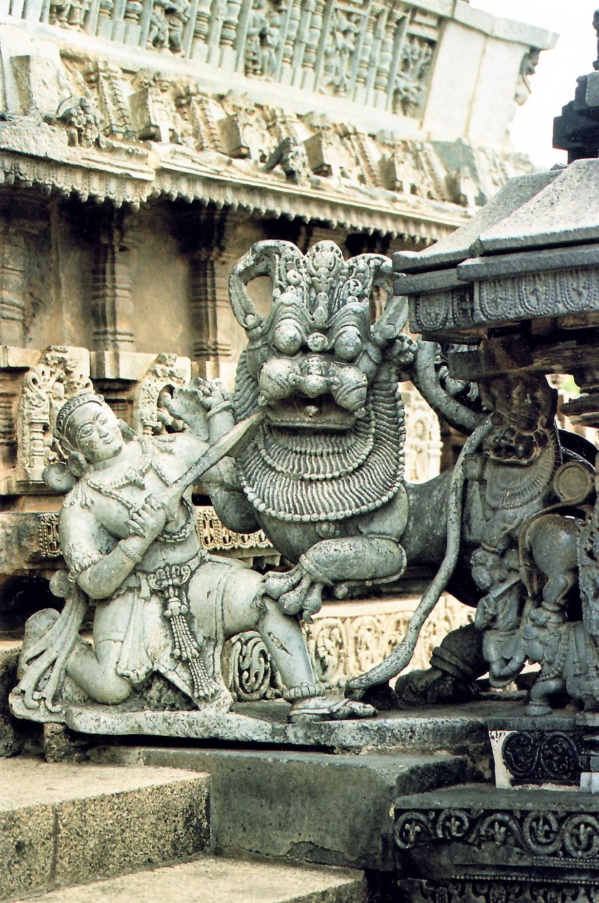 Chennakesava Temple in Belur, Karnataka, India.