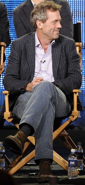 English: Hugh Laurie during the HOUSE session ...