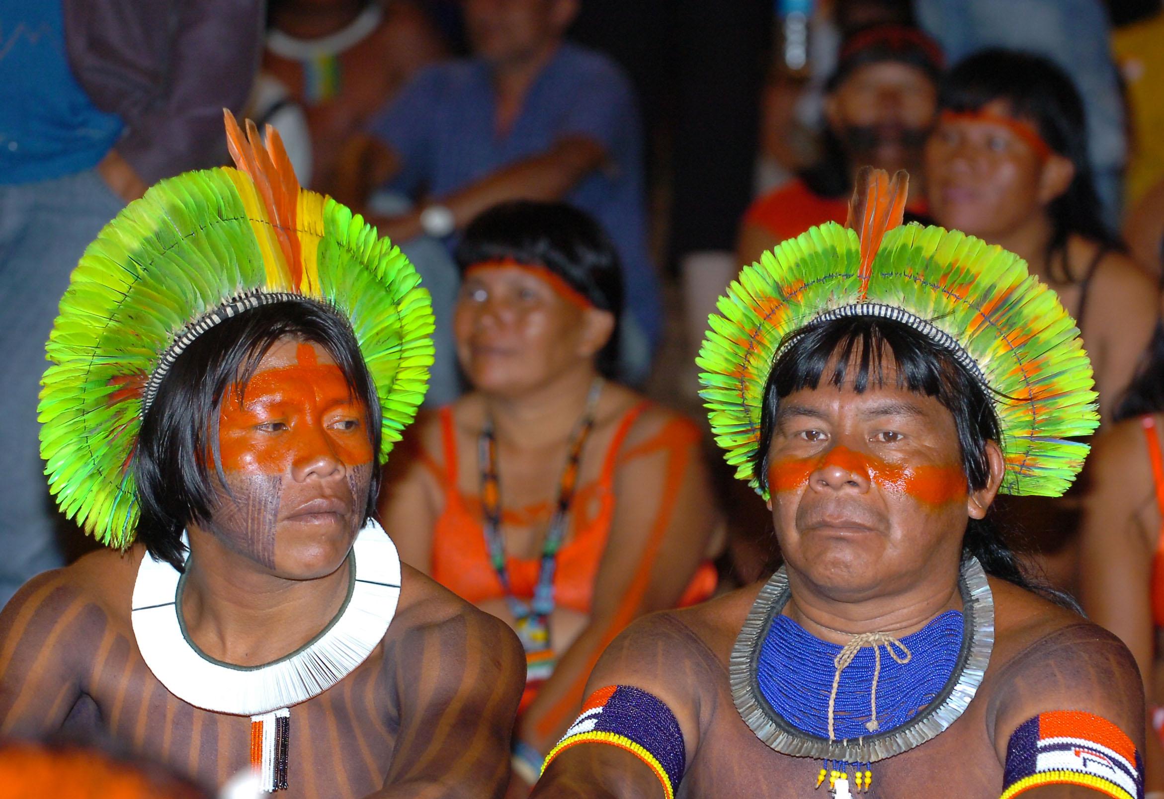 Indígenas de Brasil, 2007 (wikimedia.org)