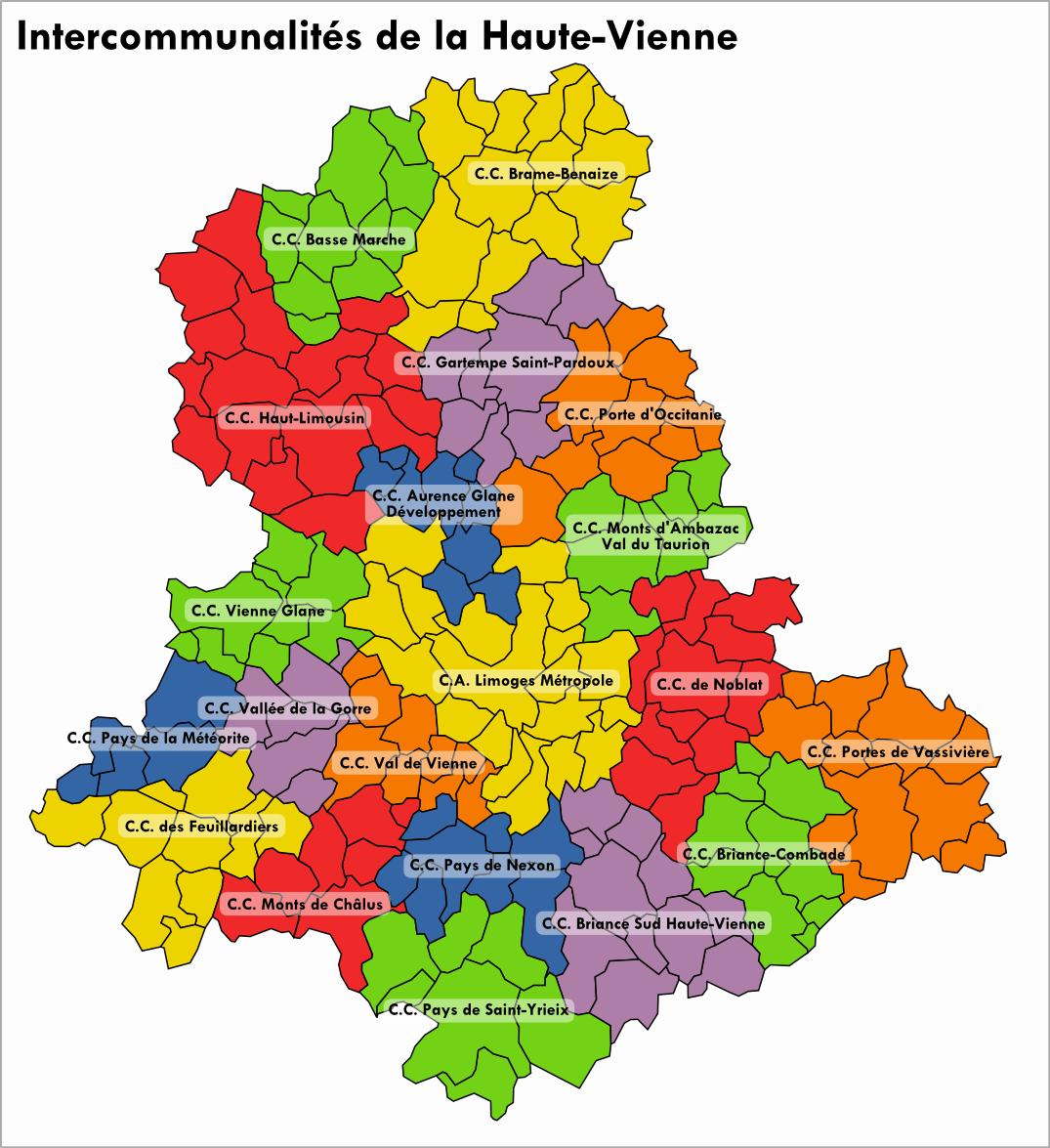 Haute vienne departamenduko udalerrien zerrenda for Haute vienne