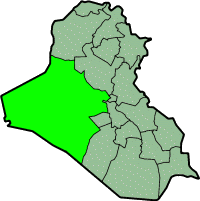 Location of Al Anbar Province