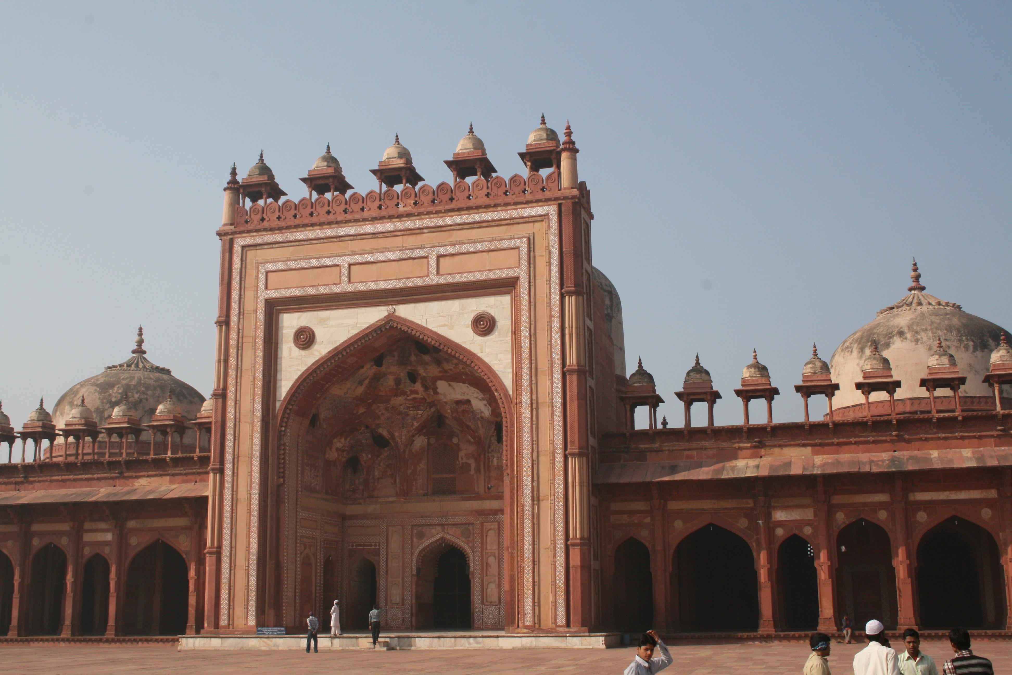 Fatehpur Sikri India  city photos : Jama Masjid Sikri Fatehpur Sikri India0008 Wikipedia, the ...