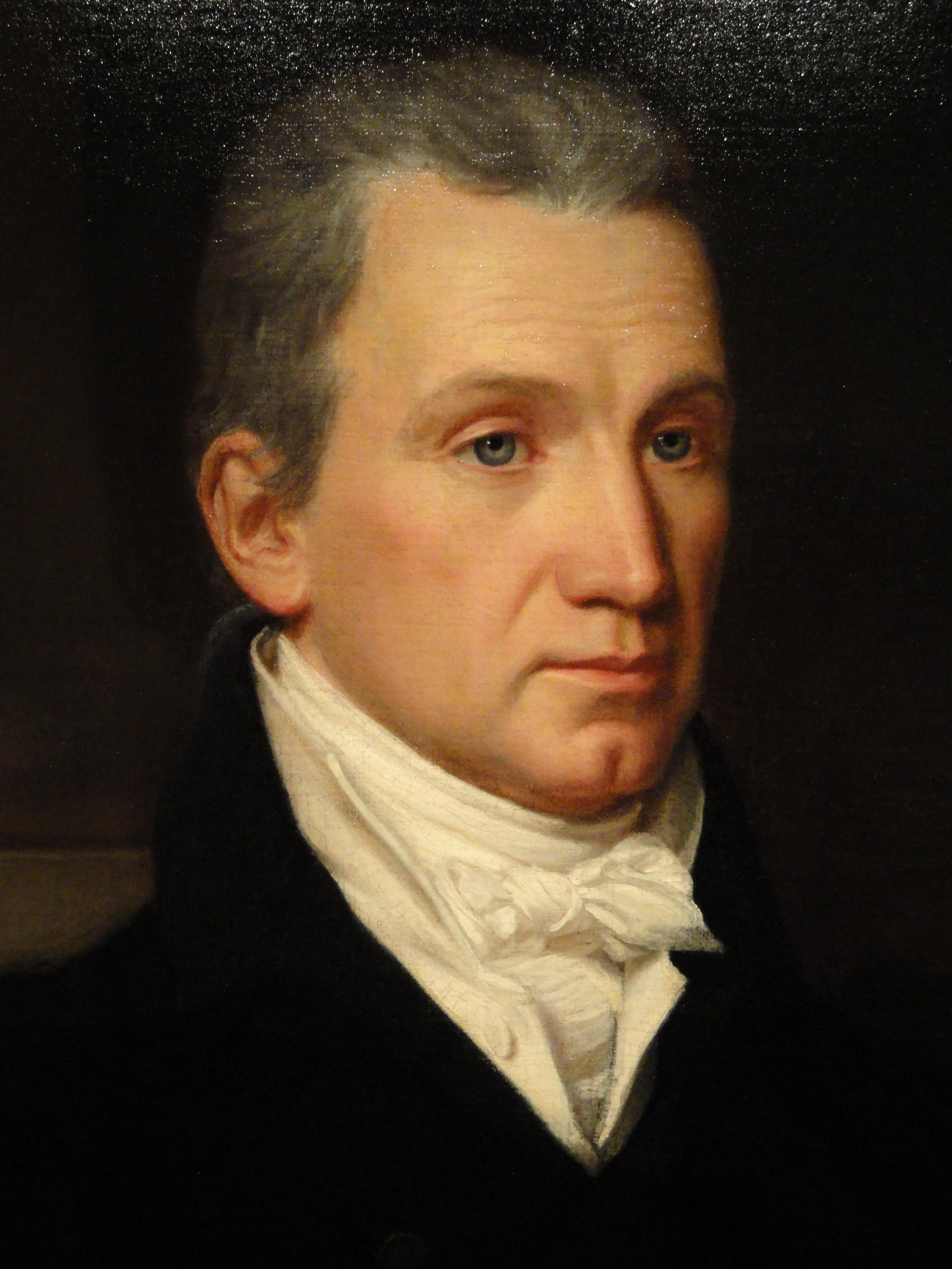 james monroe by john vanderlyn detail 1816