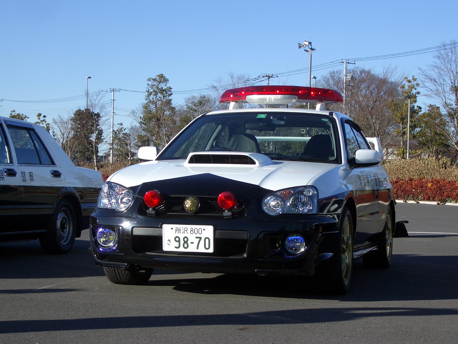 File Japanese Subaru Impreza Wrx Sti Police Car Jpg Wikimedia Commons
