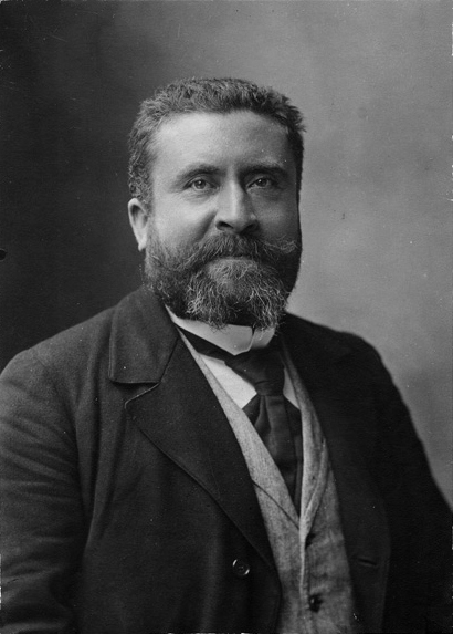 Jean Jaures, French socialist leader assassinated on the eve of war