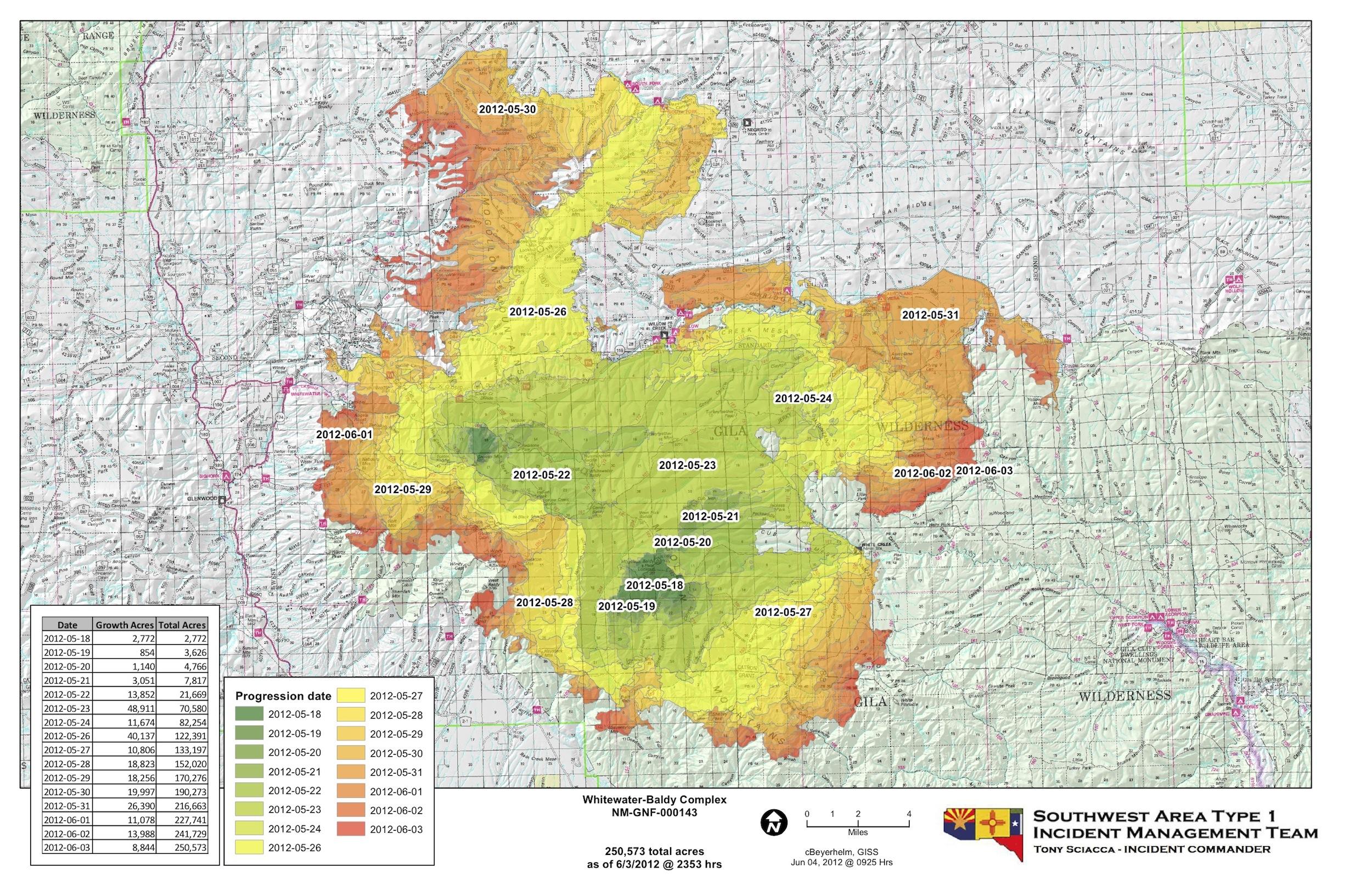 File:June 4 Fire Progression Map (7156849459).   Wikimedia Commons