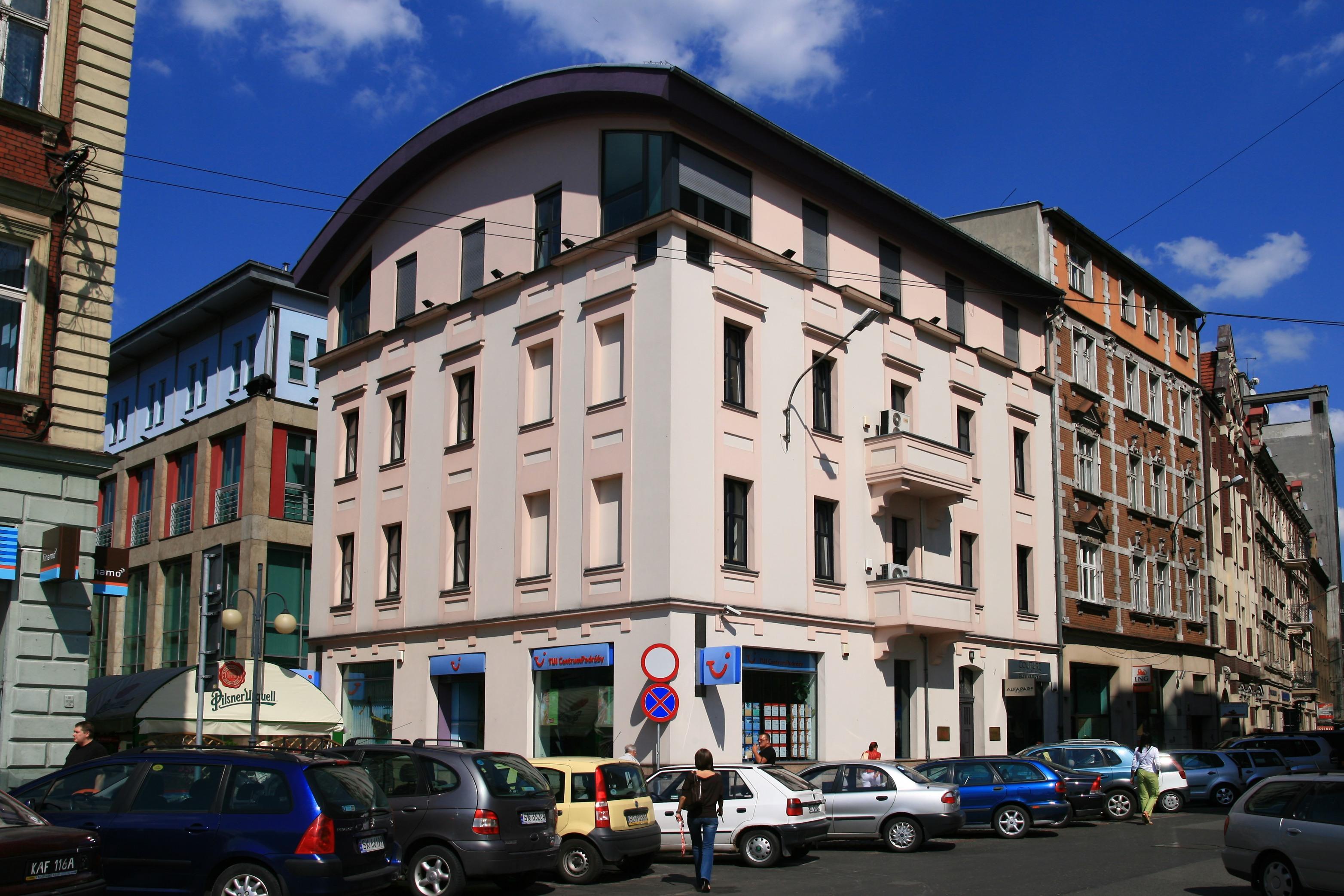 Ulica Wawelska w Katowicach