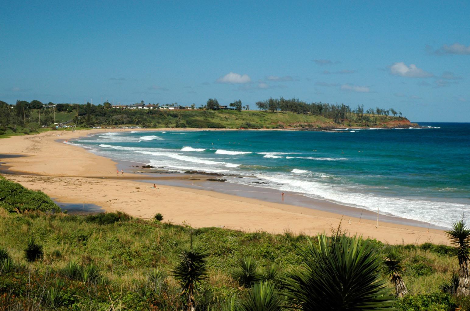 File Kealia Beach Located Along The Royal Coconut Coast Of Kauai Hawaii Jpeg Wikimedia Commons