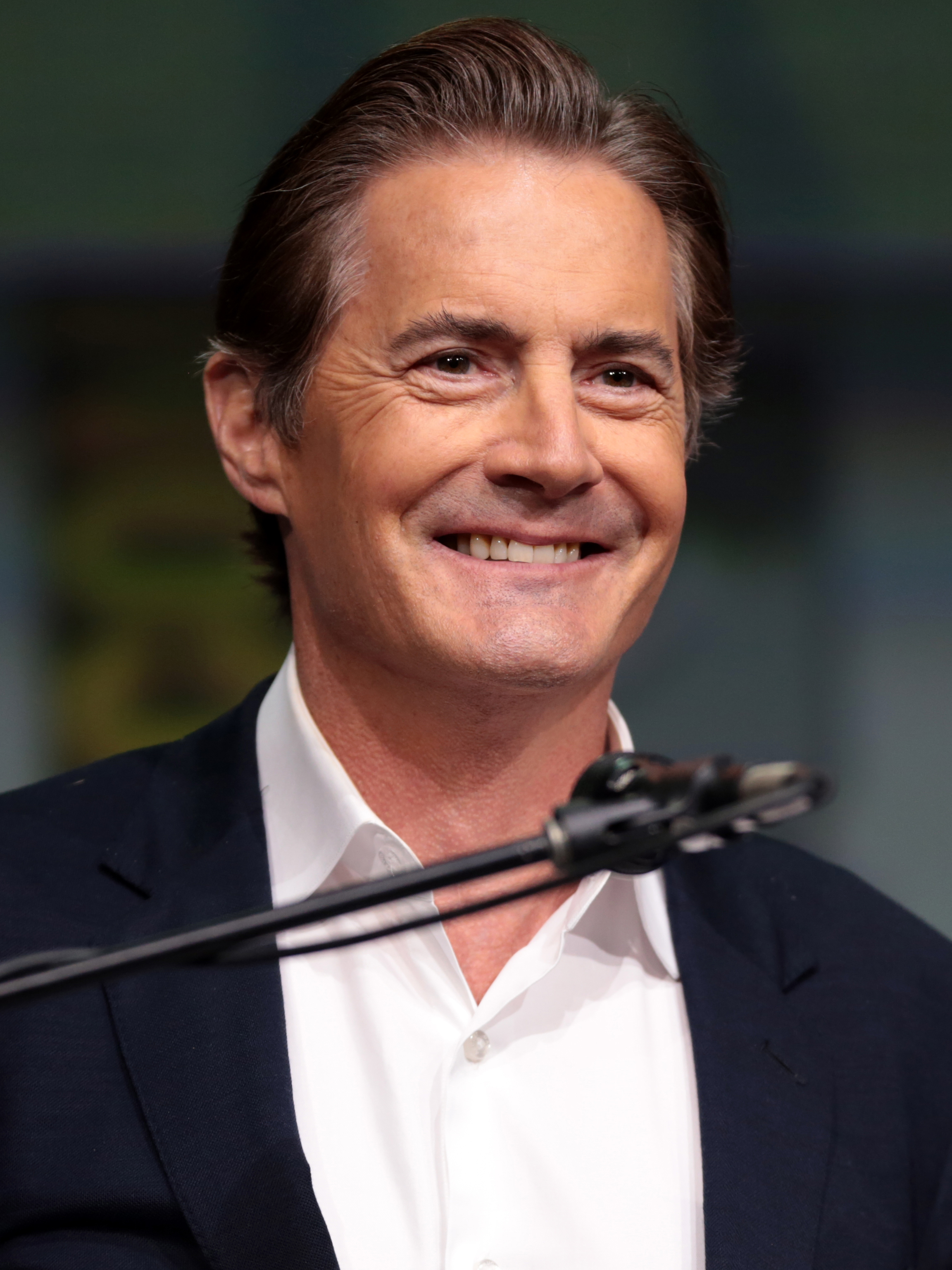 Something Actor kyle maclachlan charming message