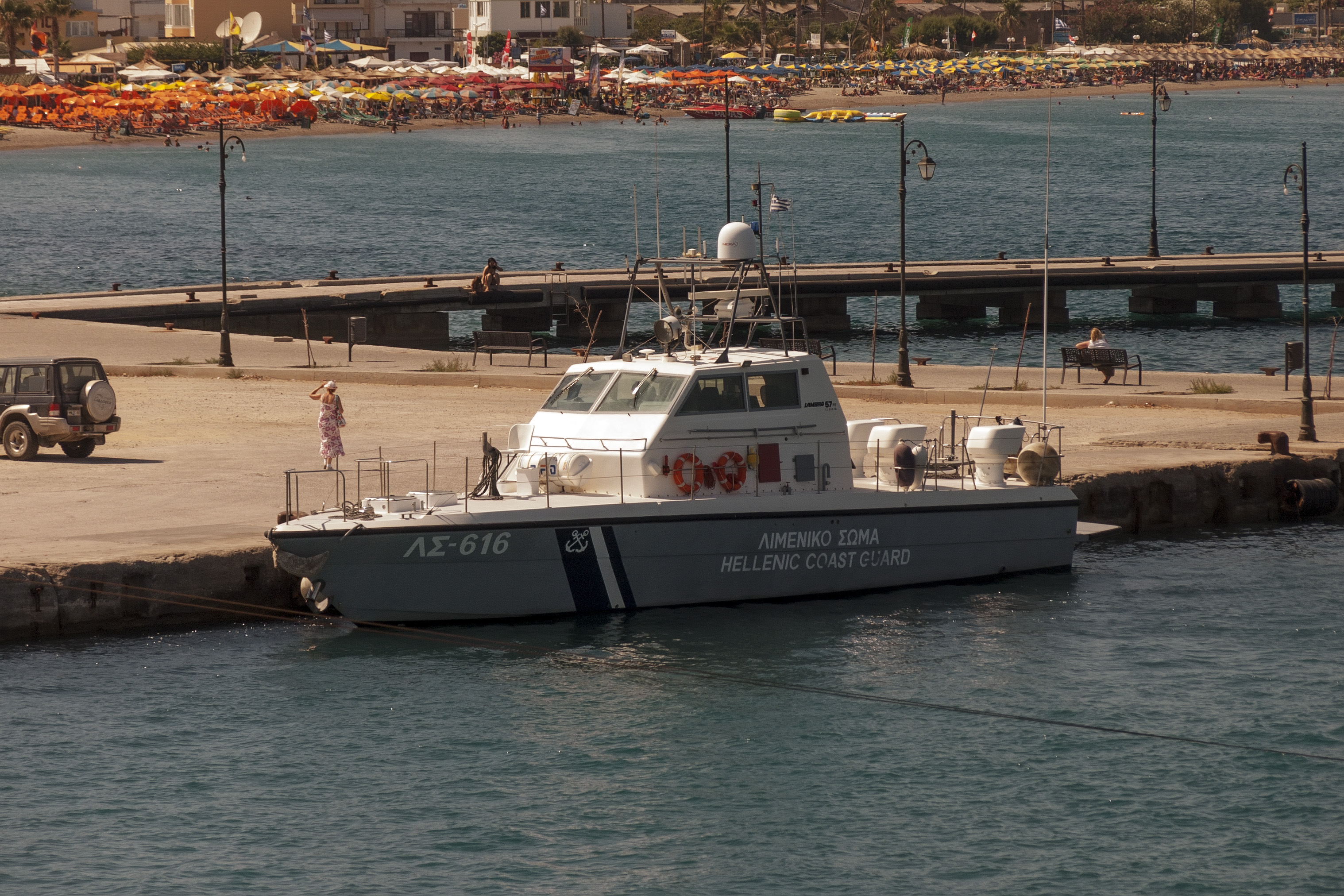 File:LS-616 patrol boat in Kos jpg - Wikimedia Commons