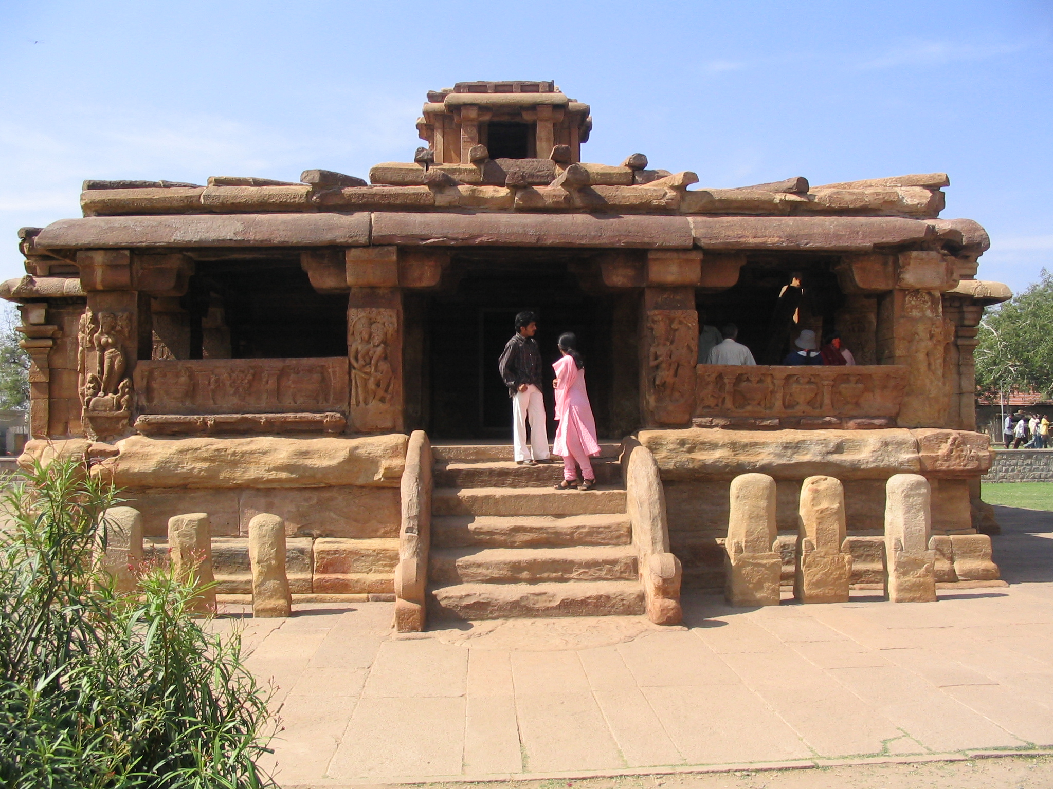 File Lad Khan Temple Aihole Karnataka India Jpg