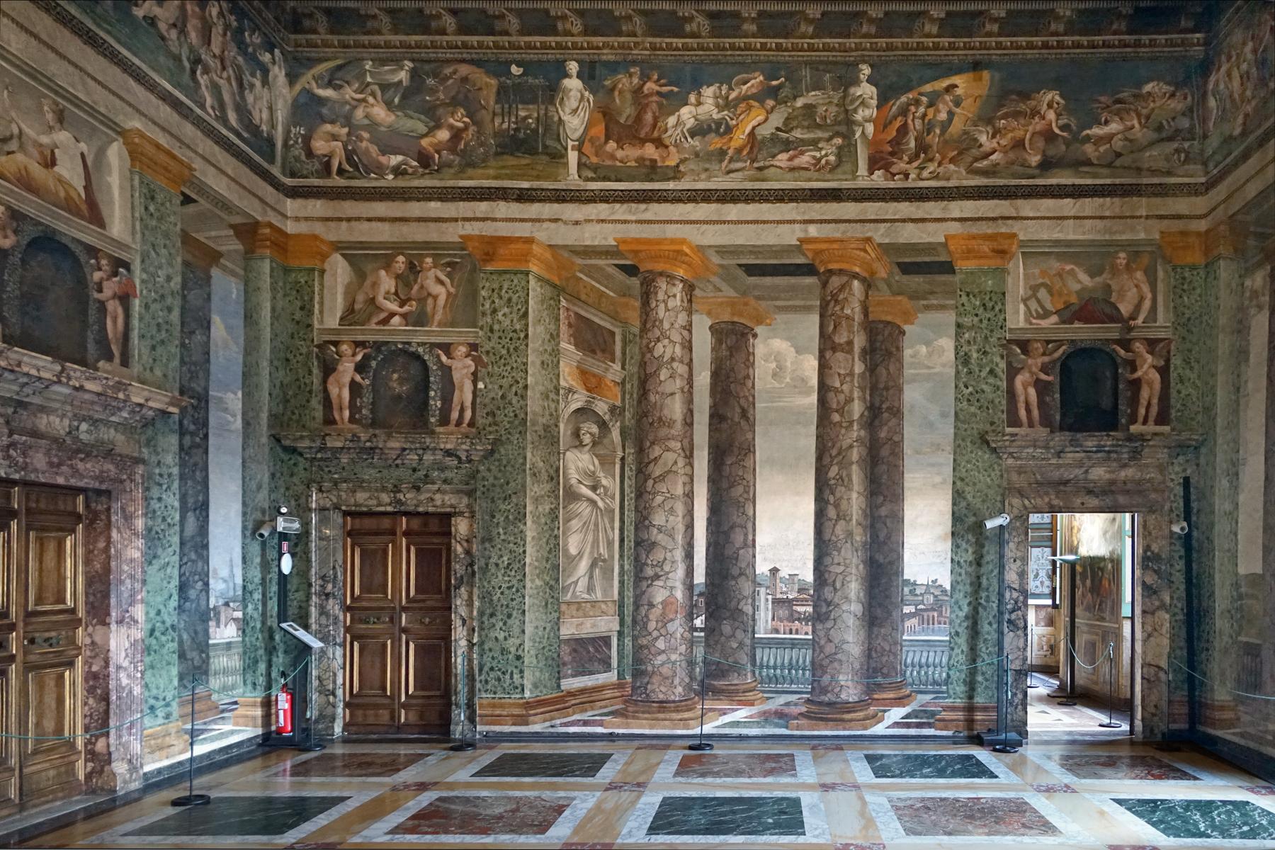File Le Salon Des Perspectives Villa Farnesina Rome