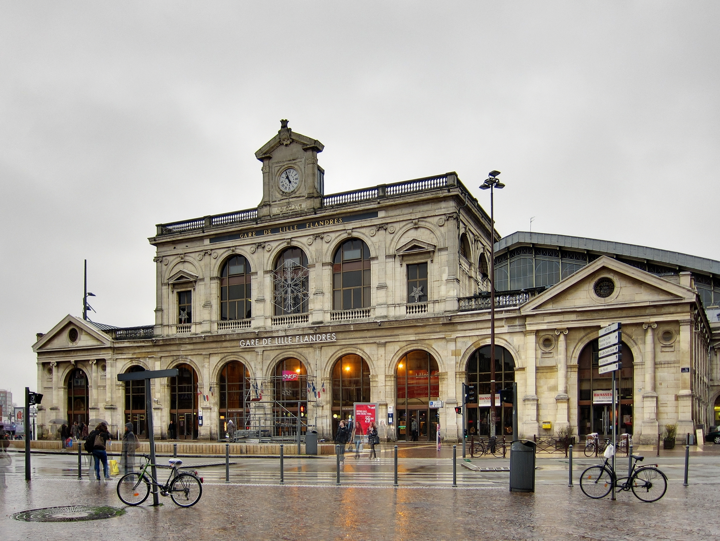 File lille gare wikimedia commons - Cabinet ophtalmologie des flandres lille ...