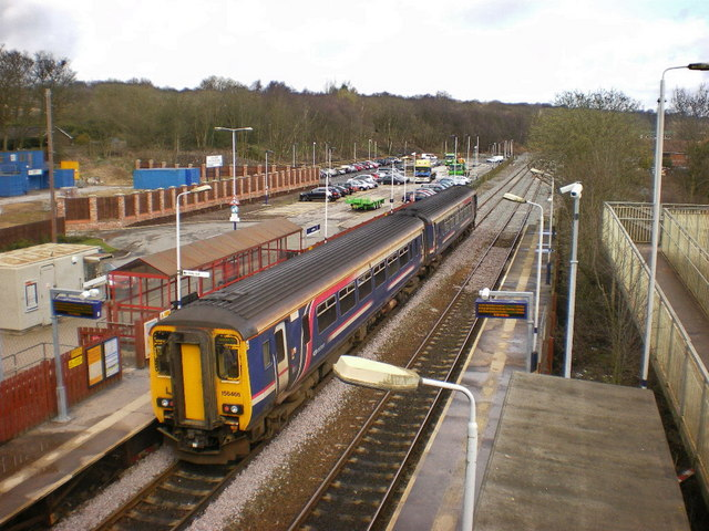 Lostock Station - geograph.org.uk - 1221223