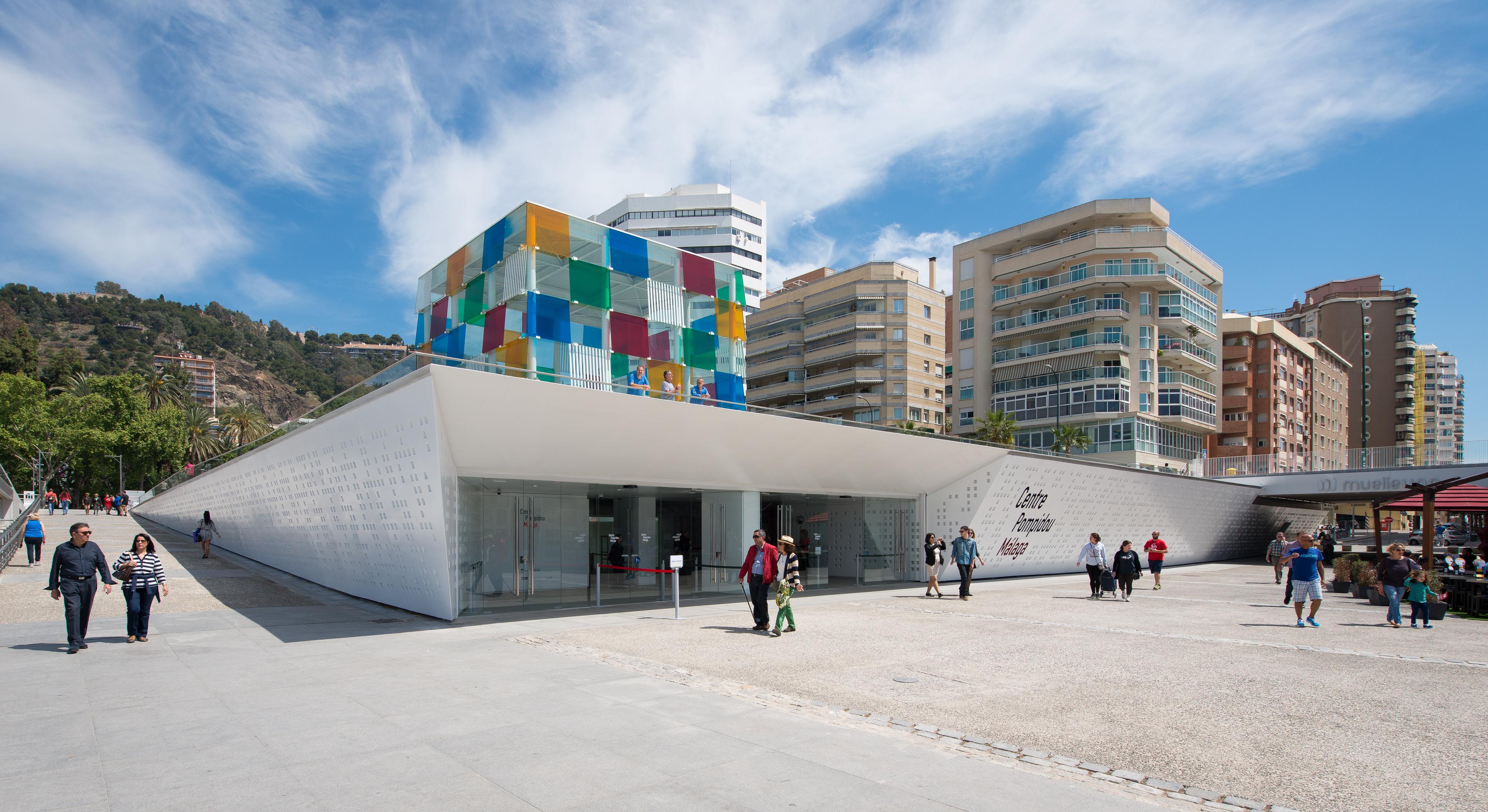 Museo Pompidou.Centro Pompidou De Malaga Wikipedia La Enciclopedia Libre
