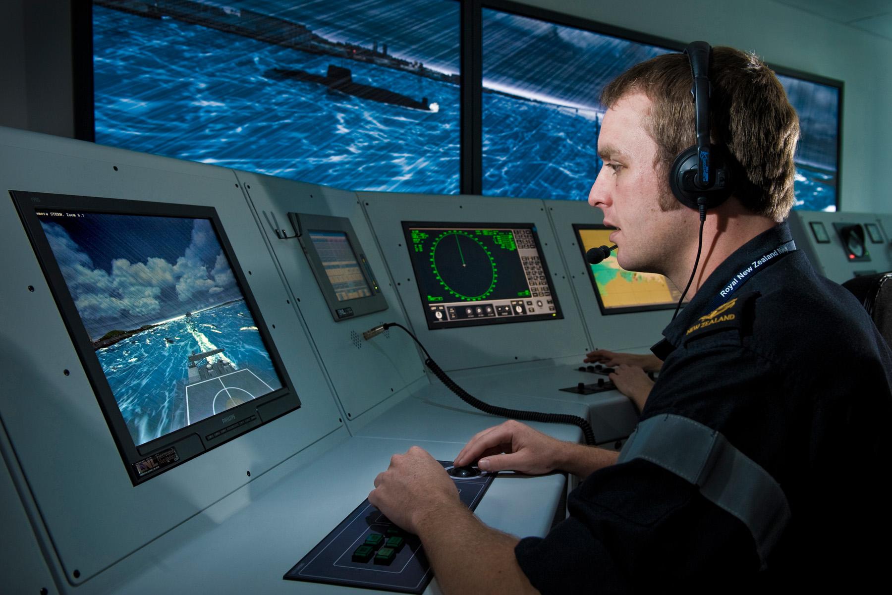 Maritime simulator - Wikipedia