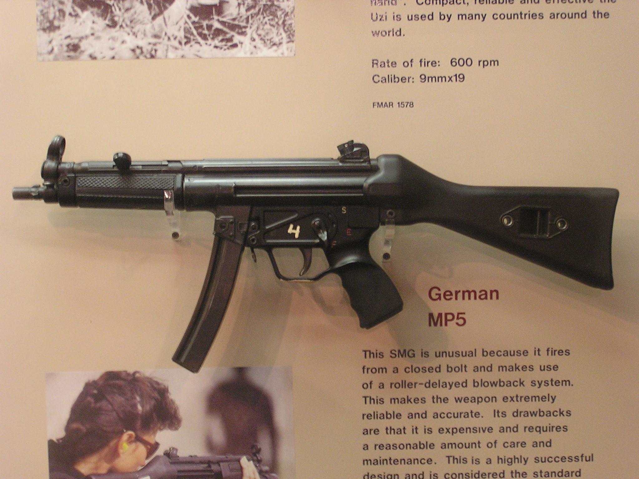 Image:MP5 in U.S. Ordnance Museum