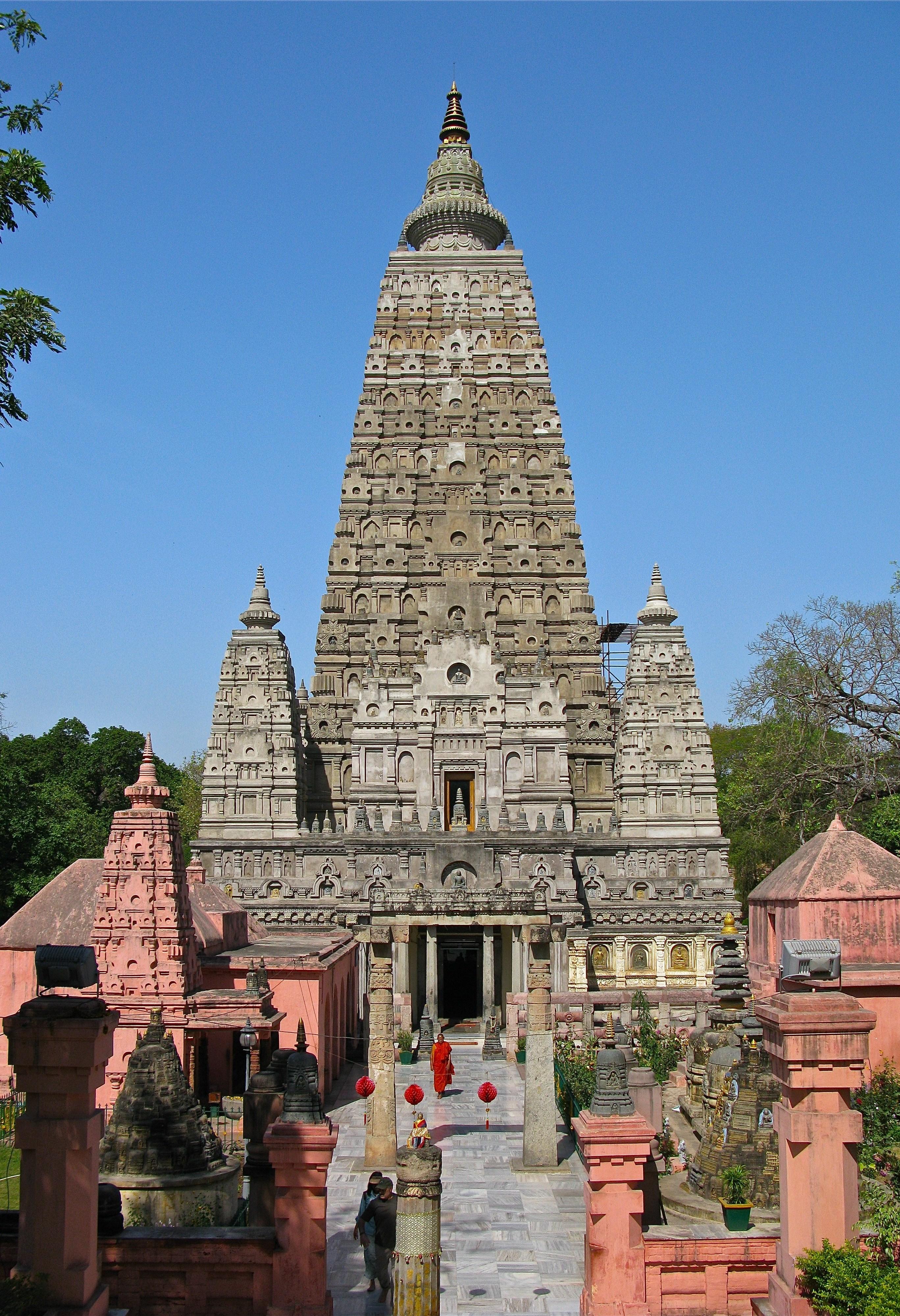 Gaya India  City pictures : Mahabodhi Temple Bodh Gaya Bihar India Wikipedia, the free ...