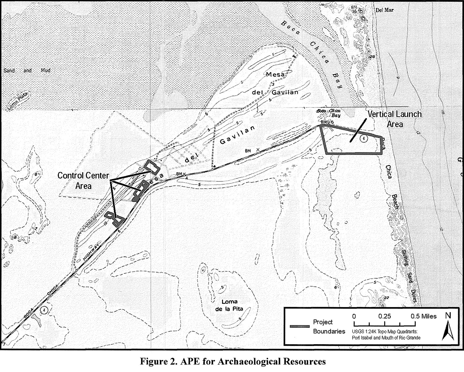 File:Map of proposed SpaceX Brownsville, Texas launch site ...