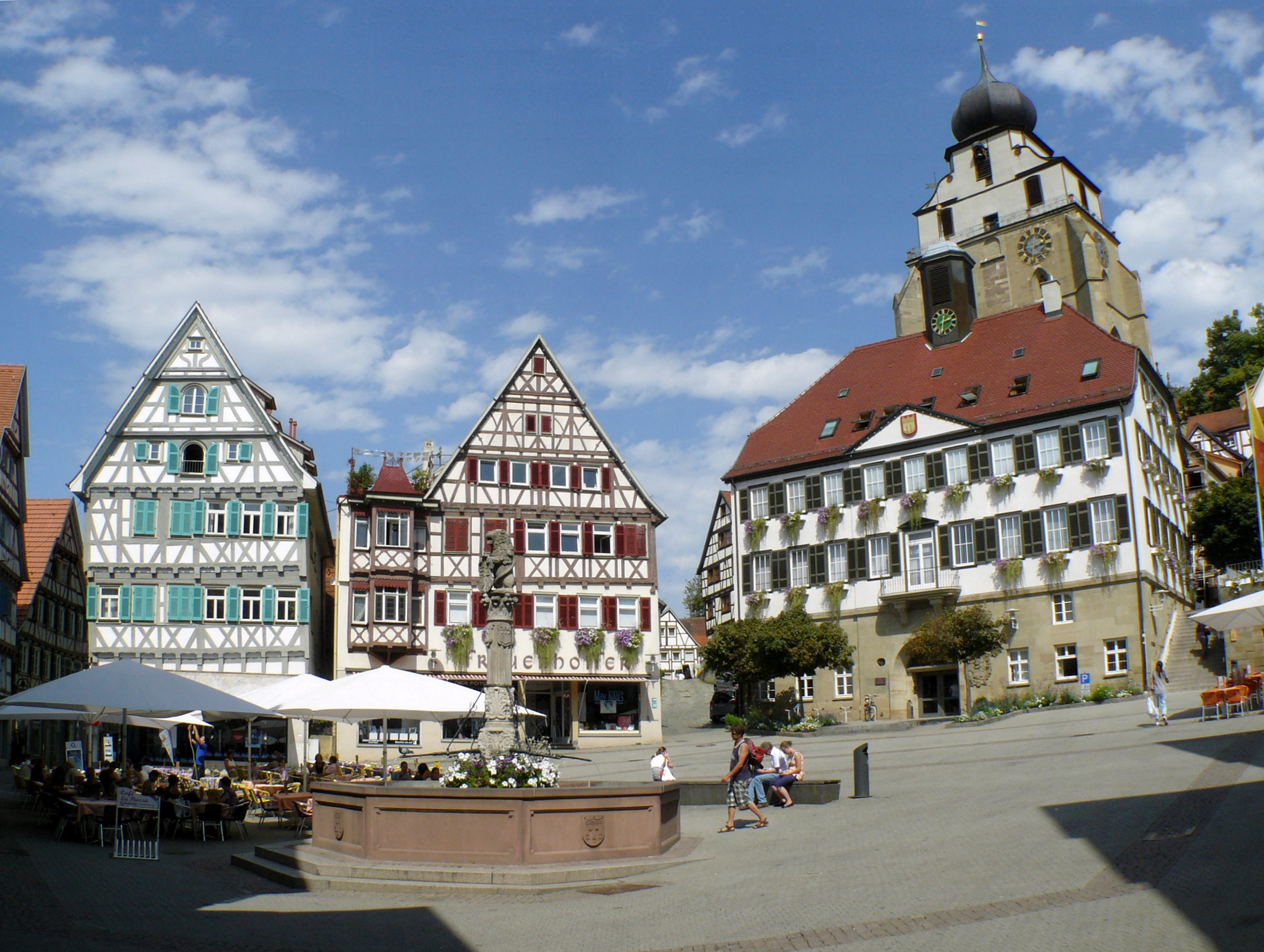 Herrenberg Germany  City new picture : Datei:Marktplatz Herrenberg – Wikipedia