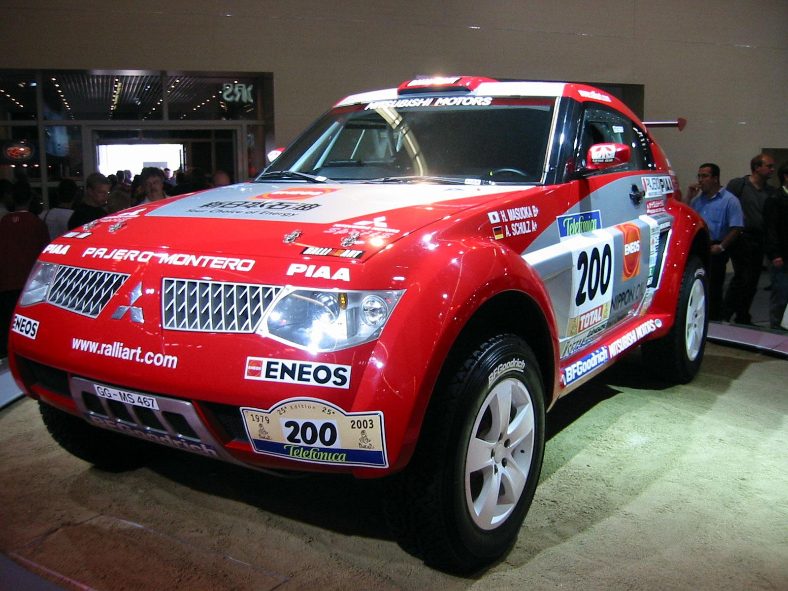 File Mitsubishi Pajero Montero Paris Dakar 2003 Jpg