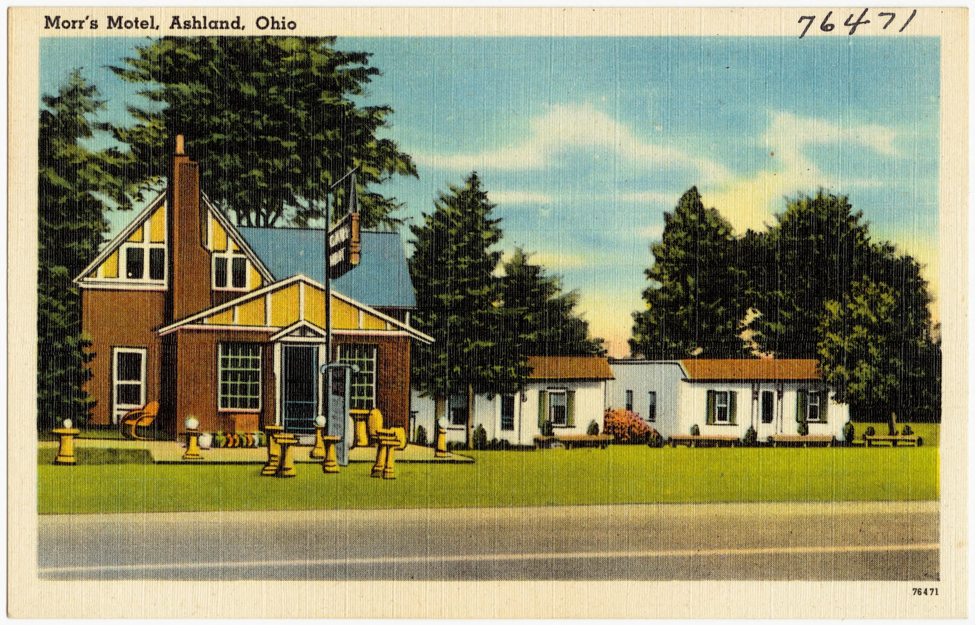 Motel  Ashland Ohio