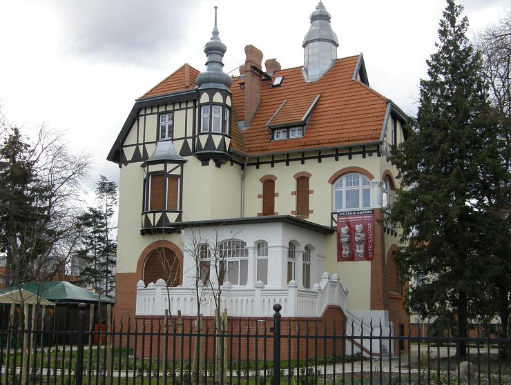 Willa Claaszena w Sopocie, obecnie siedziba Muzeum Sopotu