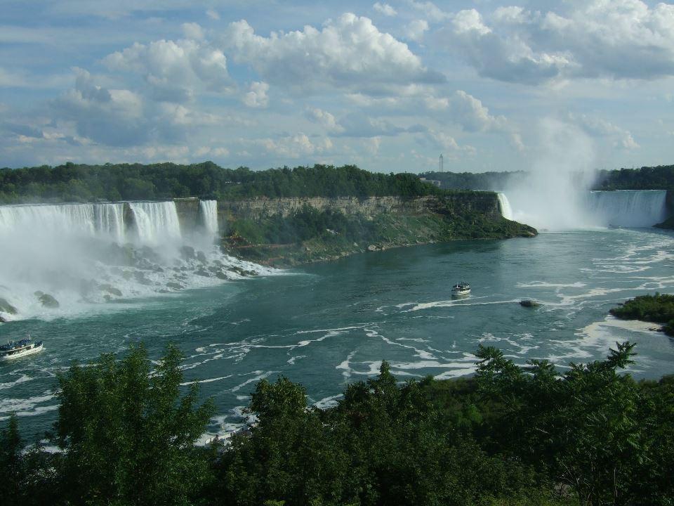 Ниагарский водопад своими руками
