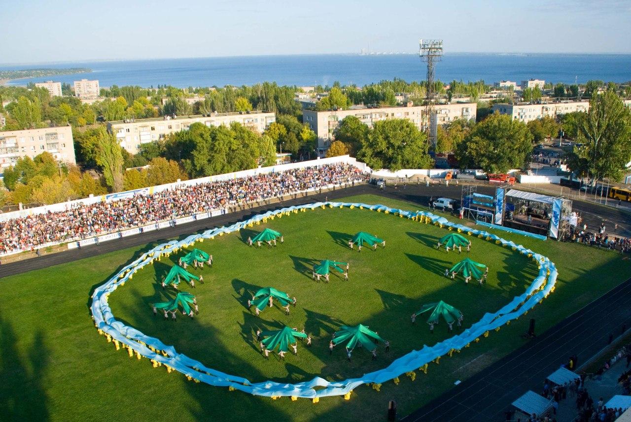 Никополь стадион электрометаллург фото