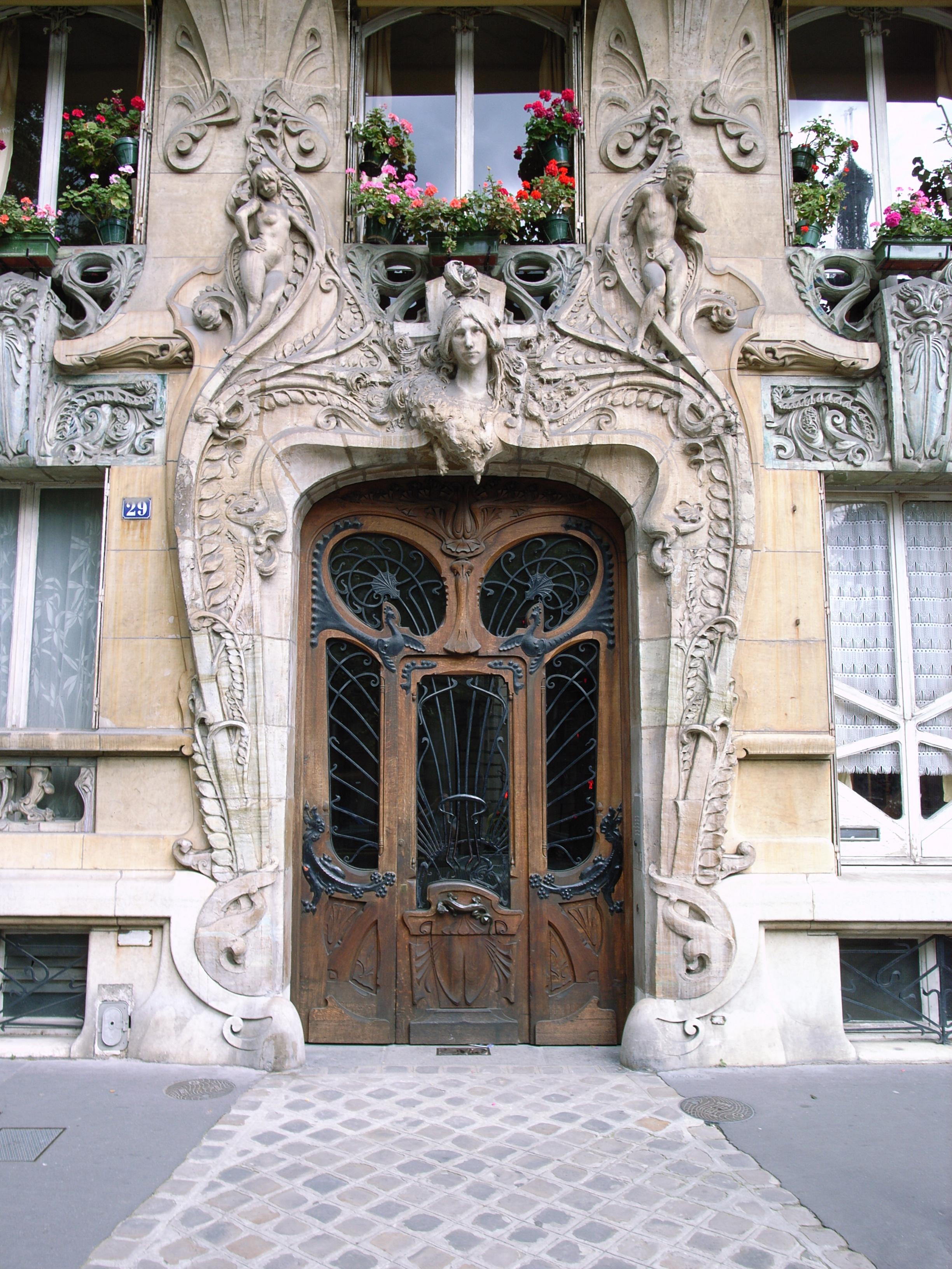 File no 29 avenue rapp wikimedia commons - Art nouveau architecture de barcelone revisitee ...