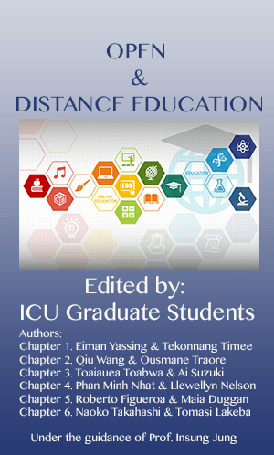 Open and Distance Education Cover