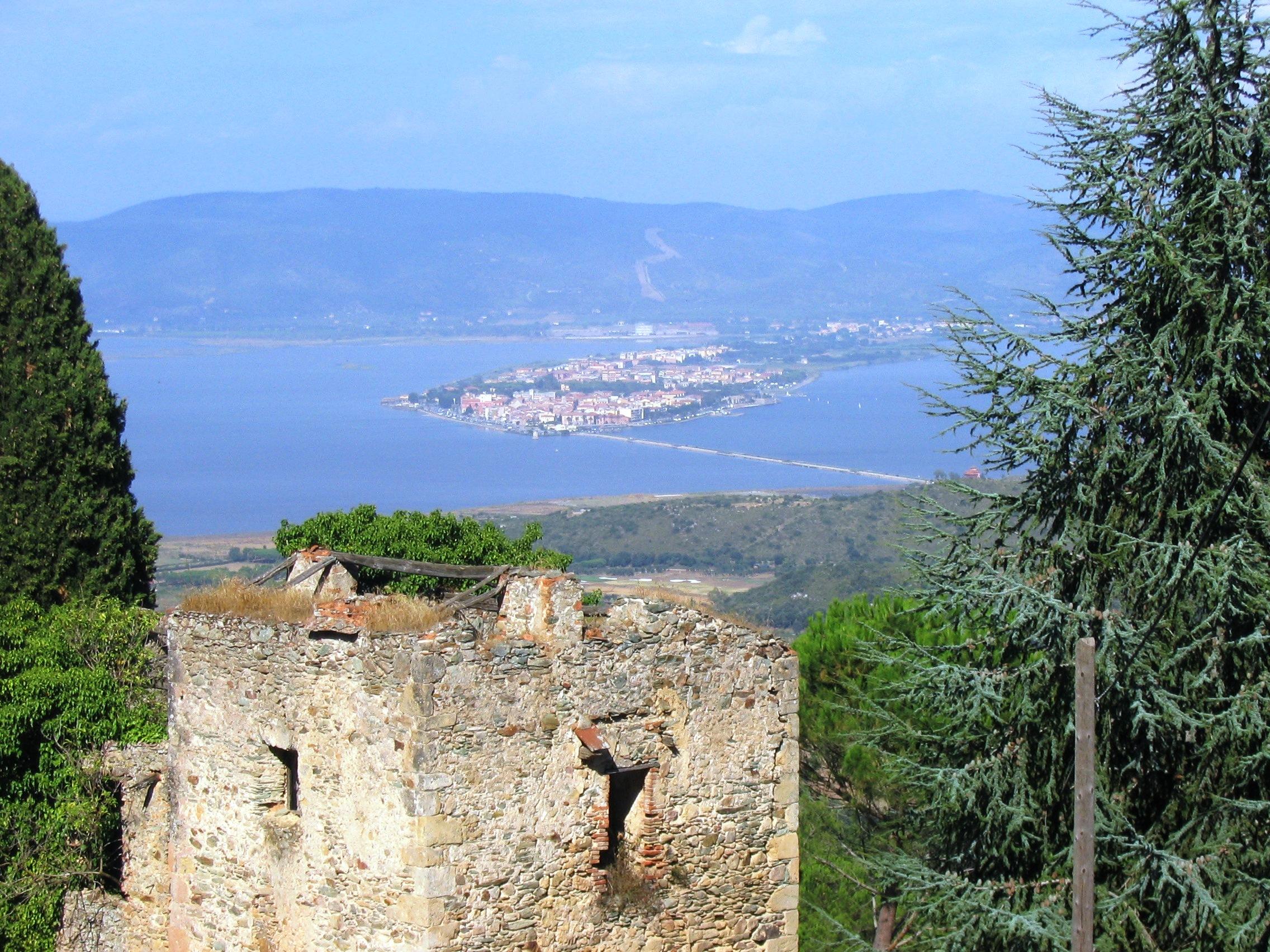 Orbetello - Vista dal convento dei frati passionisti.JPG