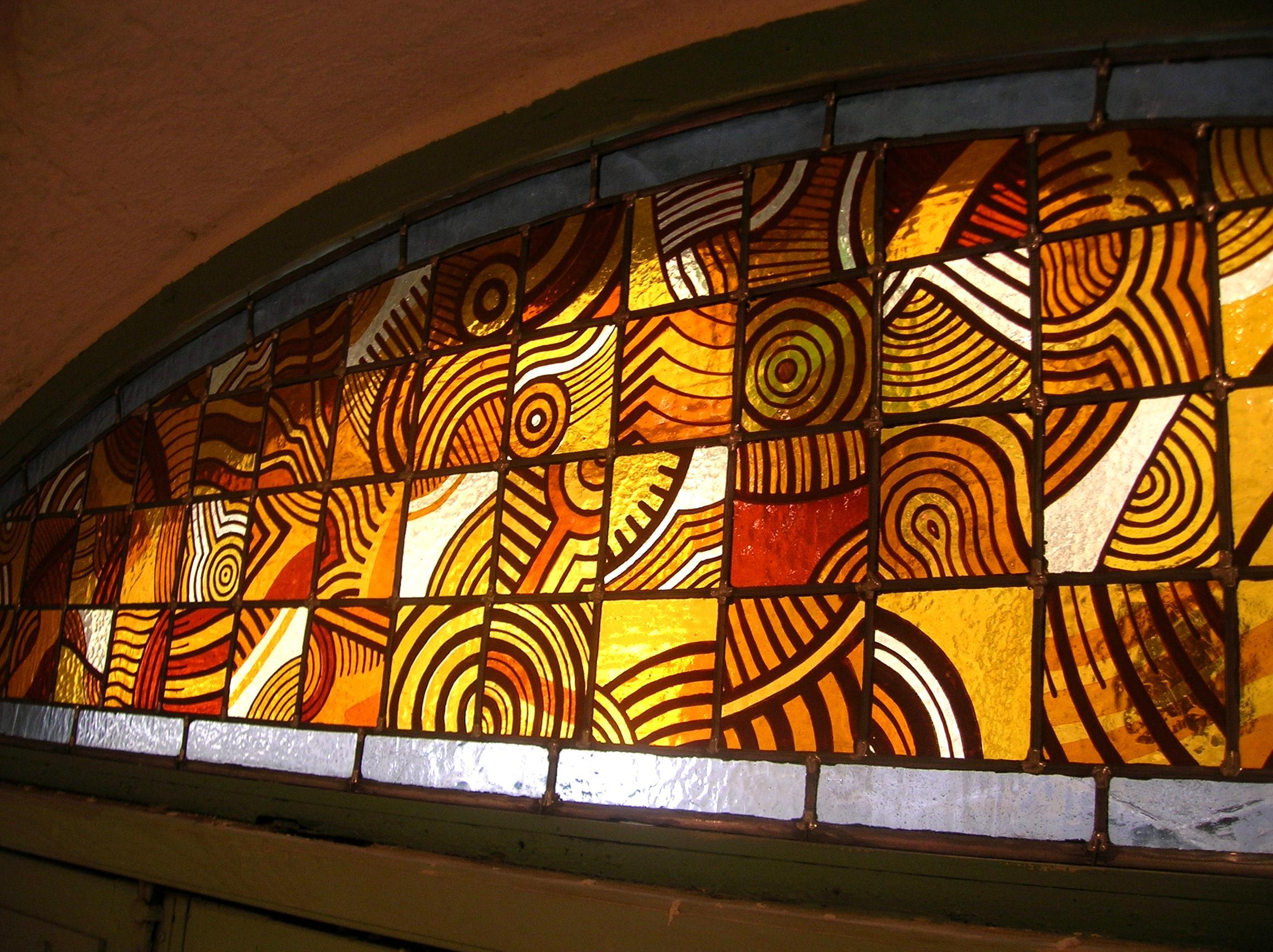 File peinture sur verre vitrail jpg wikimedia commons for Miroir vitrail modeles
