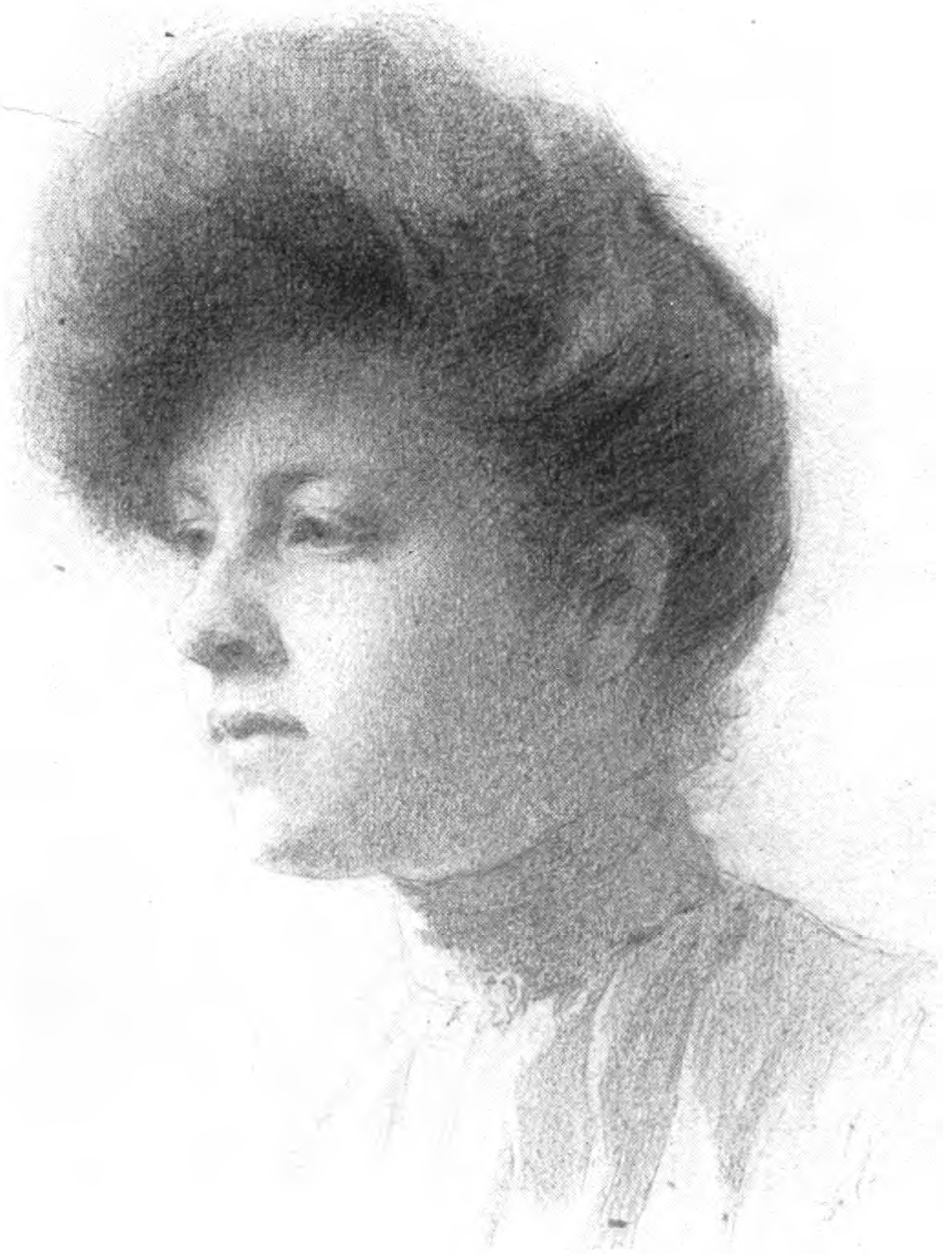 Filepencil drawing of young woman vanderpoel jpg