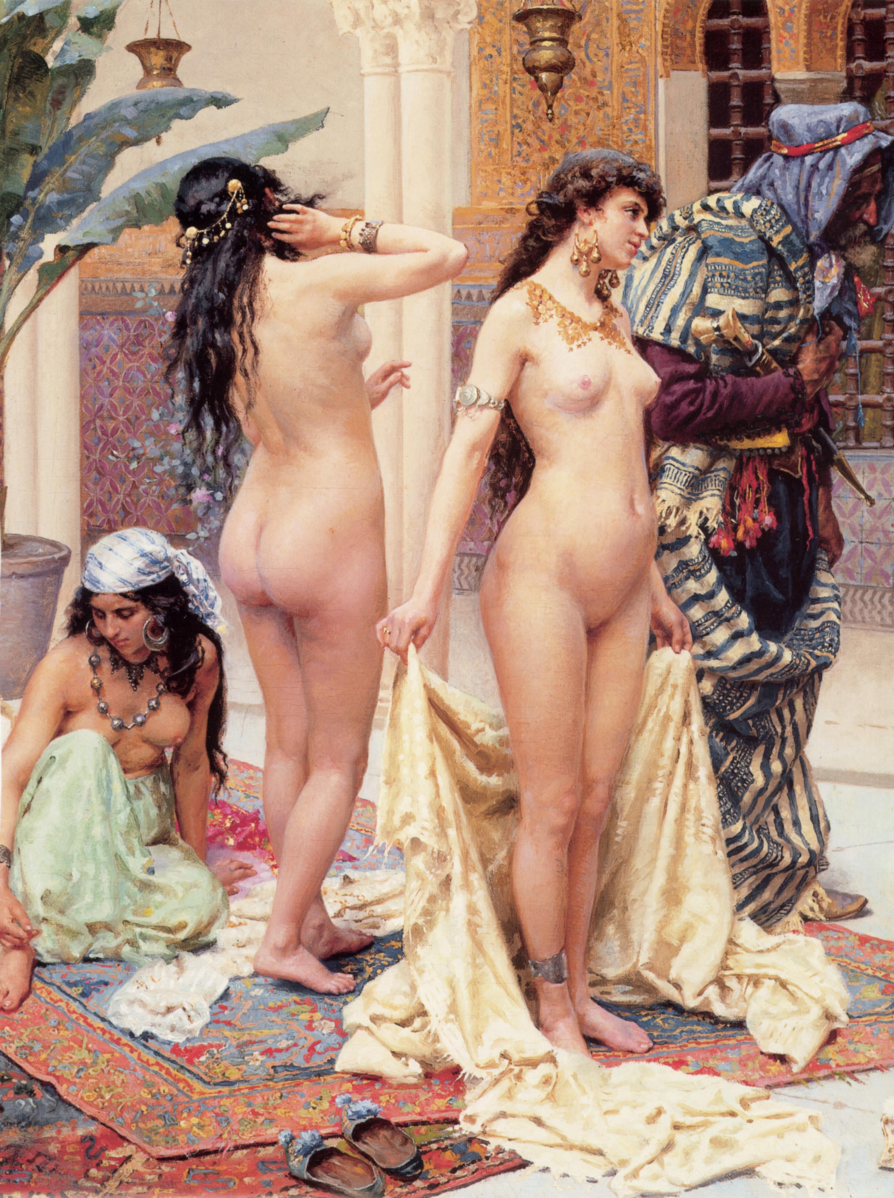 Порно арабском гареме живший