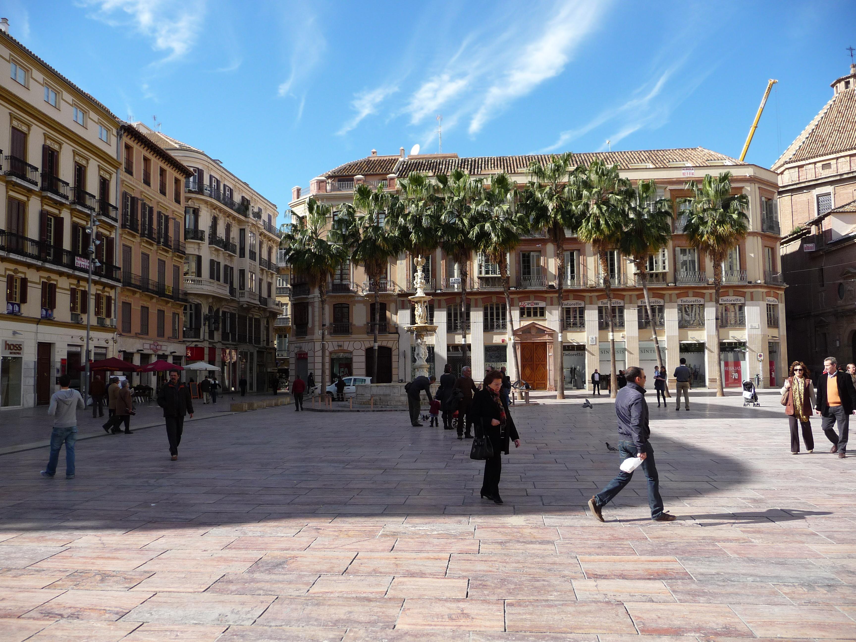 Plaza de la Constitución (Málaga) - Wikipedia, la enciclopedia libre