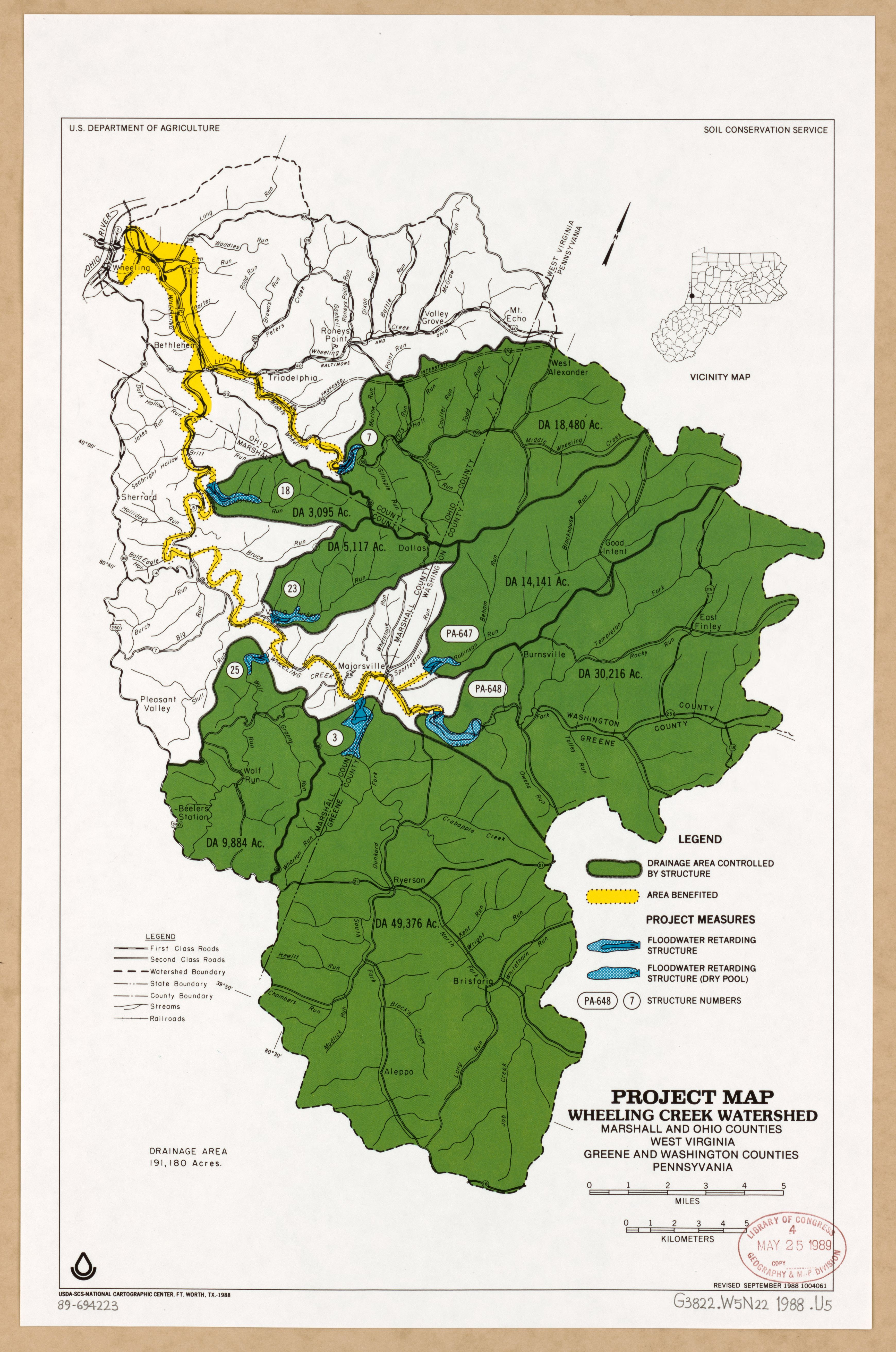 Map Of Ohio West Virginia And Pennsylvania.File Project Map Wheeling Creek Watershed Marshall And Ohio