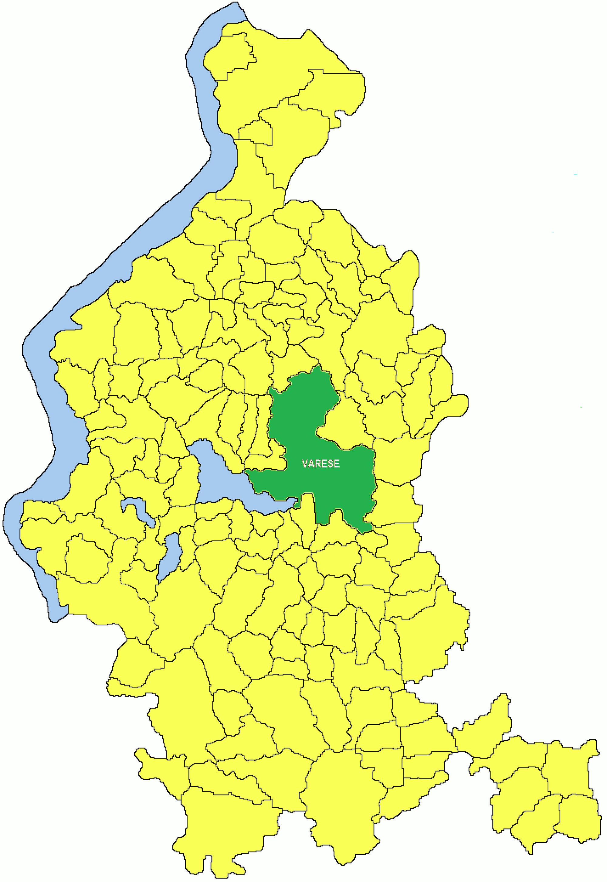 Varese Cartina.File Provincia Di Varese Png Wikipedia